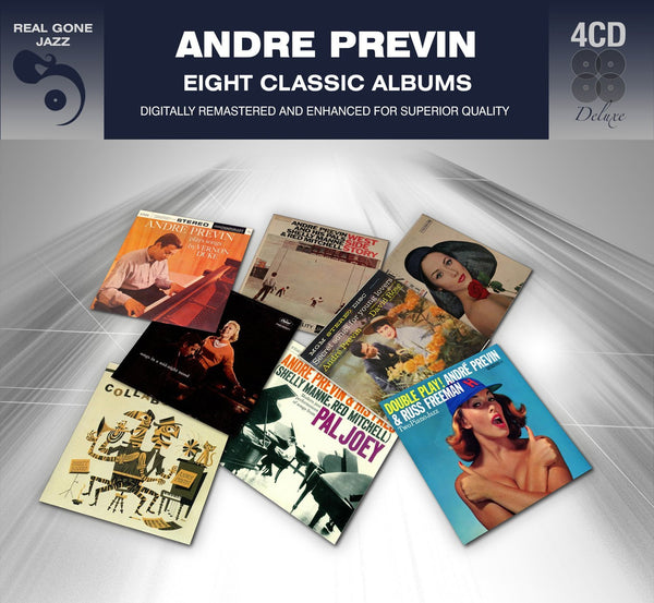 PREVIN, ANDRE: Eight Classic Albums (Digitally Remastered)