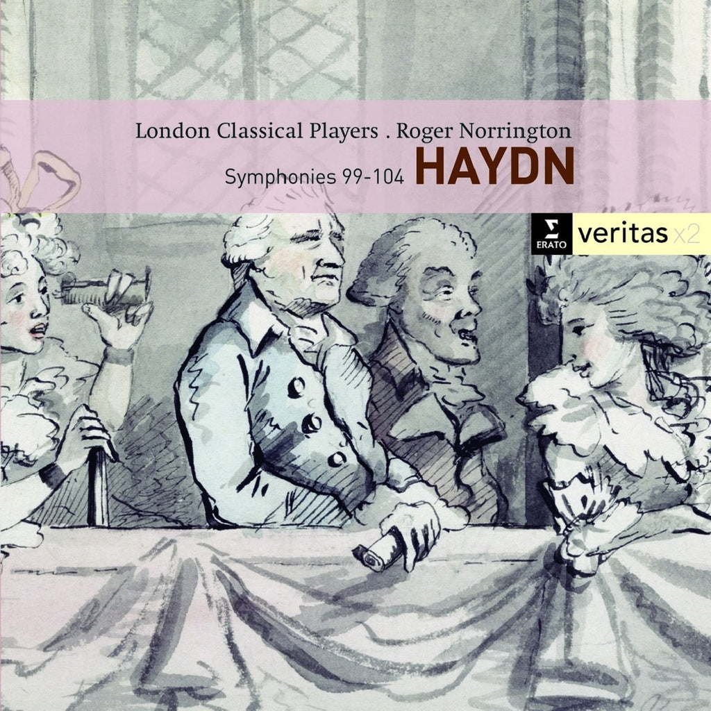 HAYDN; SYMPHONIES NOS 99-104 - NORRINGTON, LONDON CLASSICAL PLAYERS (2 CDs)