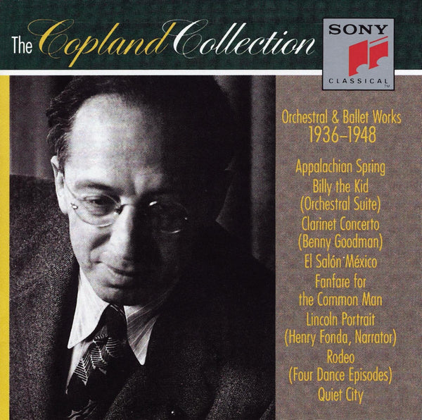 AARON COPLAND: The Copland Collection: Orchestral & Ballet Works, 1936-1948 (3 CDs)