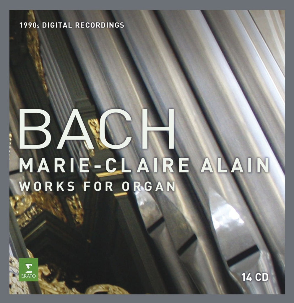 Bach: Complete Organ Works [1990s digital] - Marie-Claire Alain (14  CDs)