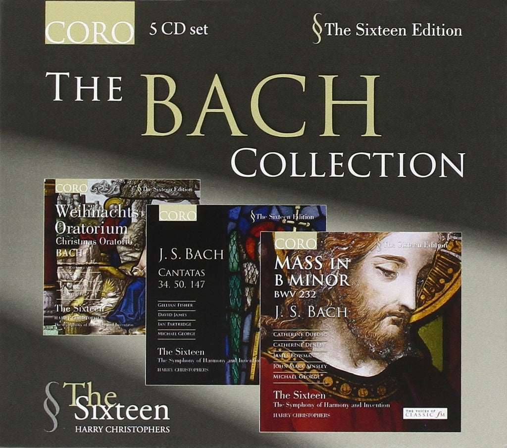 THE BACH COLLECTION (5 CDS) - THE SIXTEEN