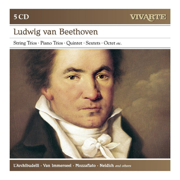 Beethoven: String Trios, Piano Trios, Sextets, Wind Octet, etc (5 CDs)