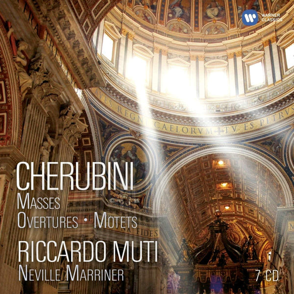 CHERUBINI: MASSES, OVERTURES, MOTETS - MUTI, MARRINER (7 CDS)