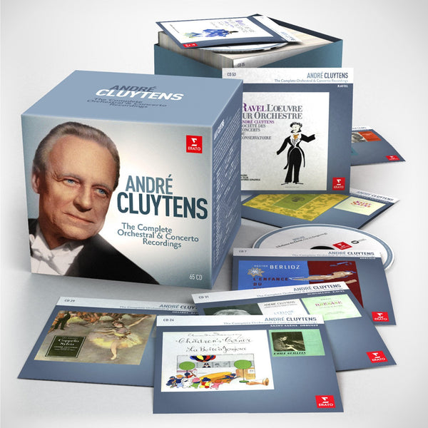 Andre Cluytens: The Complete Orchestral Recordings (65 CDs)
