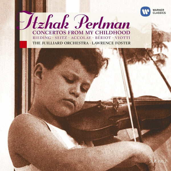 CONCERTOS FROM MY CHILDHOOD: PERLMAN, ITZHAK