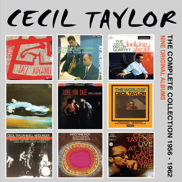 Cecil Taylor - Complete Collection: 1956-1962 (5 CDS)
