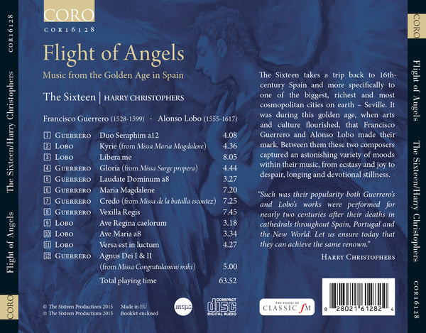 Flight of Angels: Music from the Golden Age in Spain - The Sixteen, Harry Christophers
