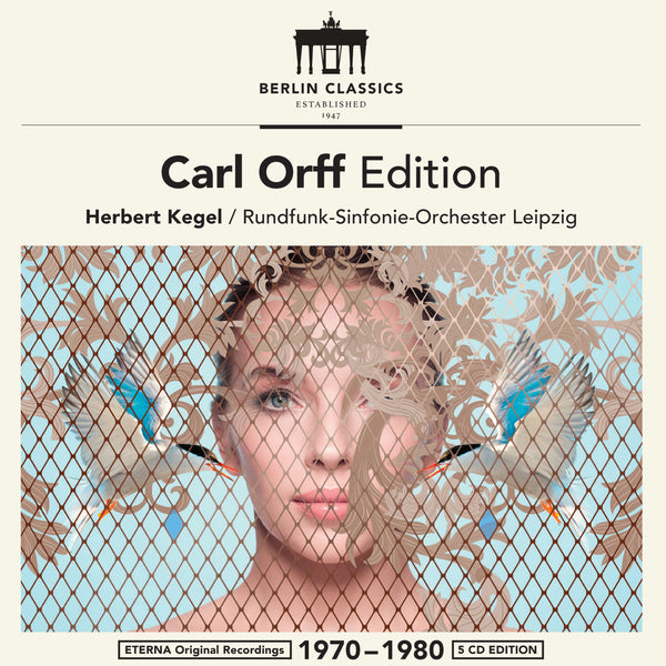 CARL ORFF EDITION (5 CDs)
