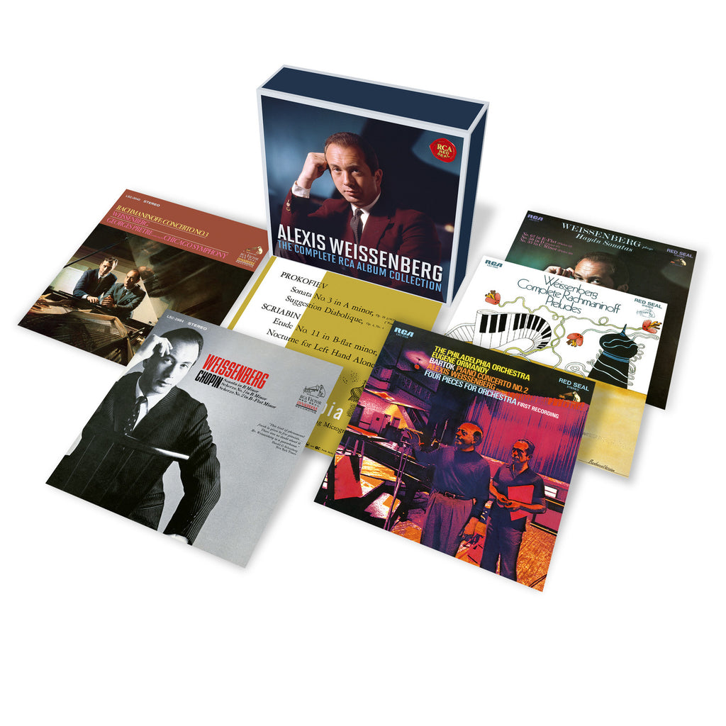 Alexis Weissenberg - The Complete RCA Album Collection (7 CDs)
