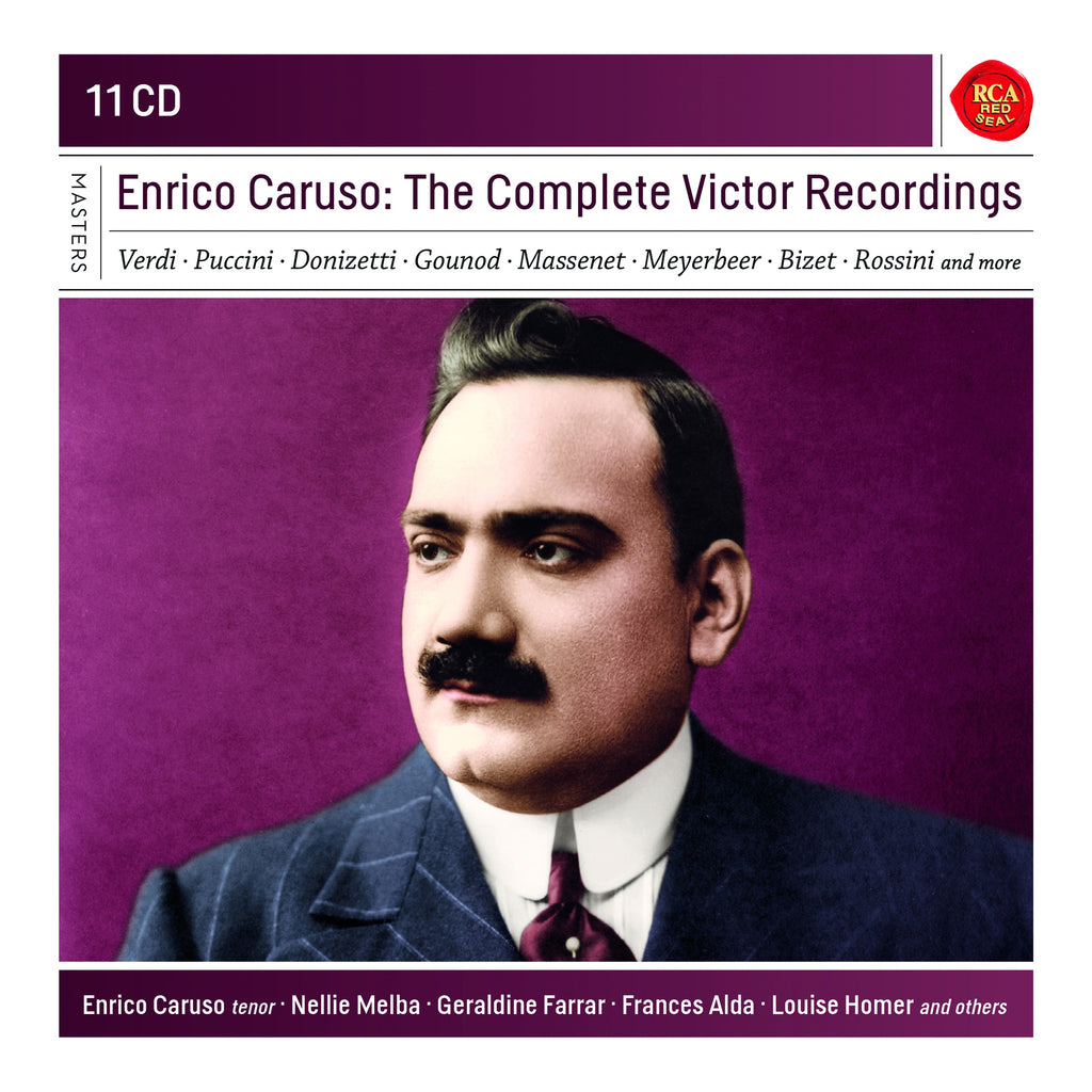 Enrico Caruso - The Complete Victor Recordings (11 CDs)