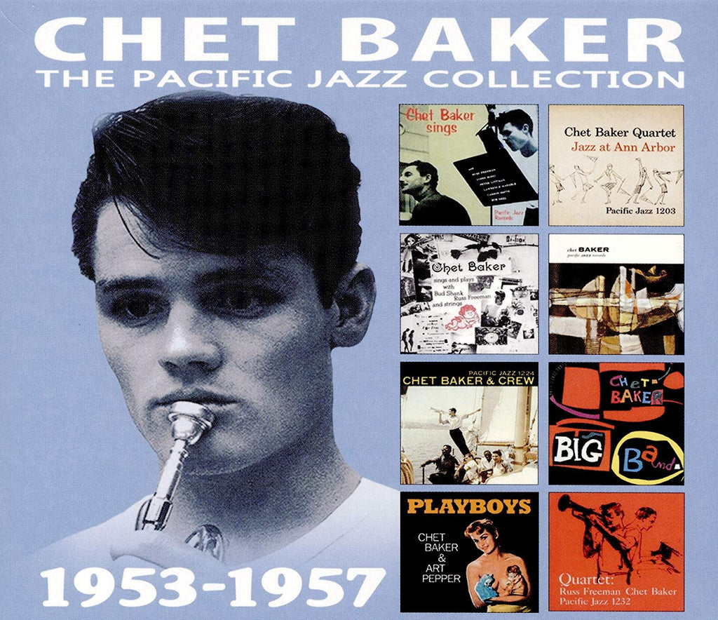 Chet Baker - Pacific Jazz Collection (4 CDS)