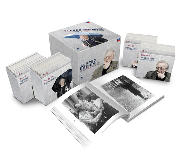 ALFRED BRENDEL: COMPLETE PHILIPS RECORDINGS (114 CDs)