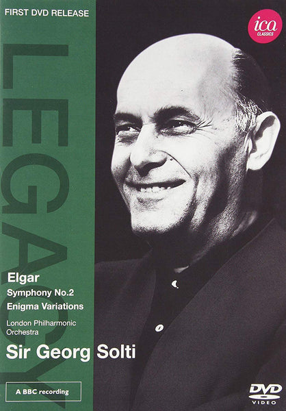 SIR GEORG SOLTI CONDUCTS ELGAR (DVD) - LONDON PHILHARMONIC ORCHESTRA