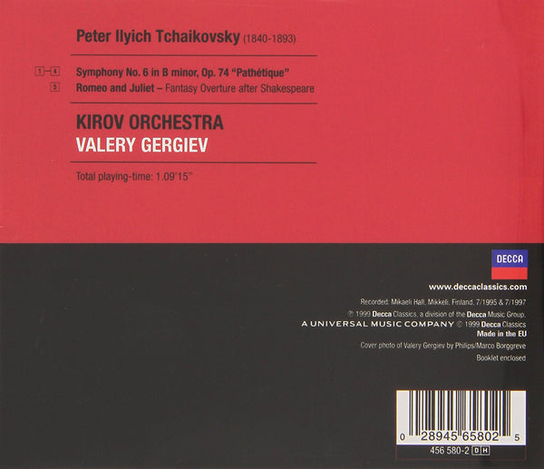 Tchaikovsky: Symphony No. 5 / Mussorgsky: Night on Bare Mountain, Khovanchina - Gergiev, Kirov Orchestra