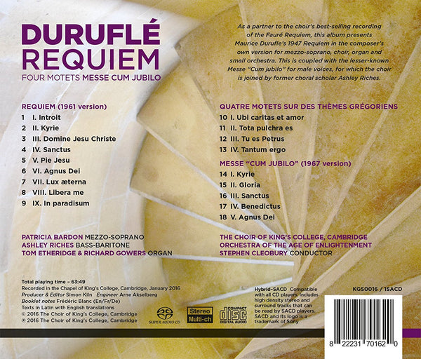 Duruflé: Requiem - King's College Choir, Stephen Cleobury