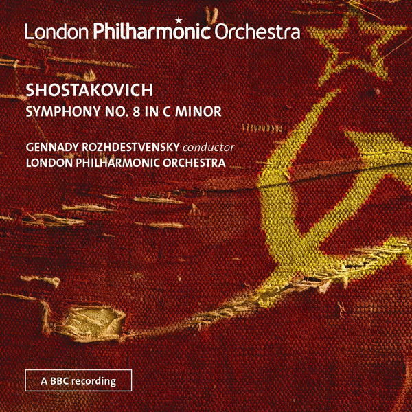 SHOSTAKOVICH: SYMPHONY NO. 8 IN C MINOR - LONDON PHILHARMONIC ORCHESTRA; ROZHDESTVENSKY; NOLAN