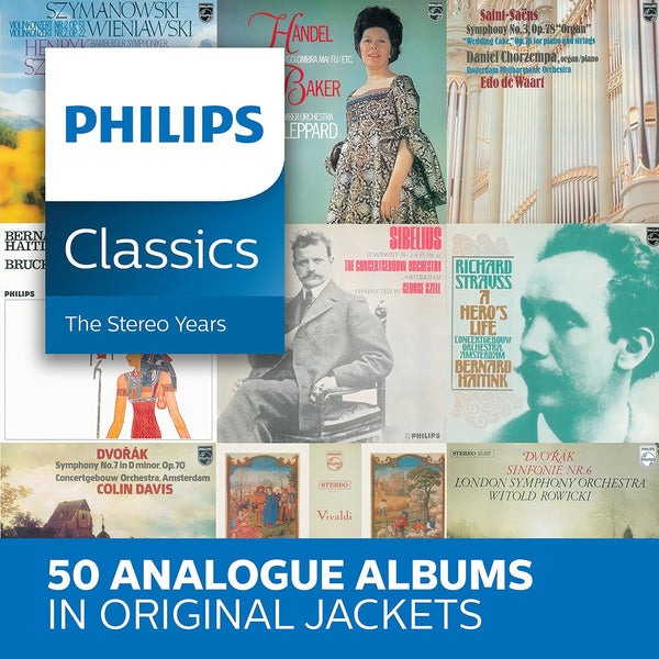 PHILIPS CLASSICS - THE STEREO YEARS (50 CDs)