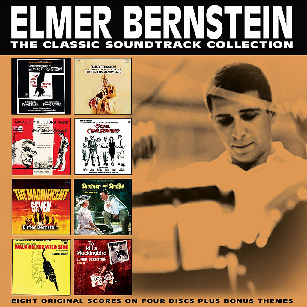 Elmer Bernstein - The Classic Soundtrack Collection (4 CDS)