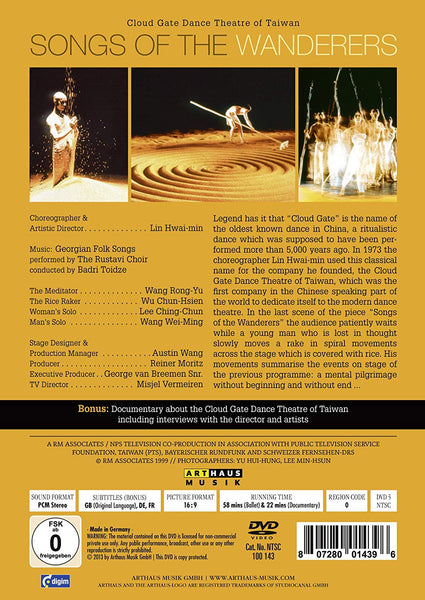 SONGS OF THE WANDERERS - CLOUD GATE DANCE THEATER TAIWAN