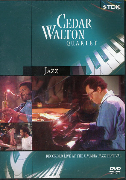 CEDAR WALTON QUARTET LIVE AT THE UMBRIA JAZZ FEST (DVD)