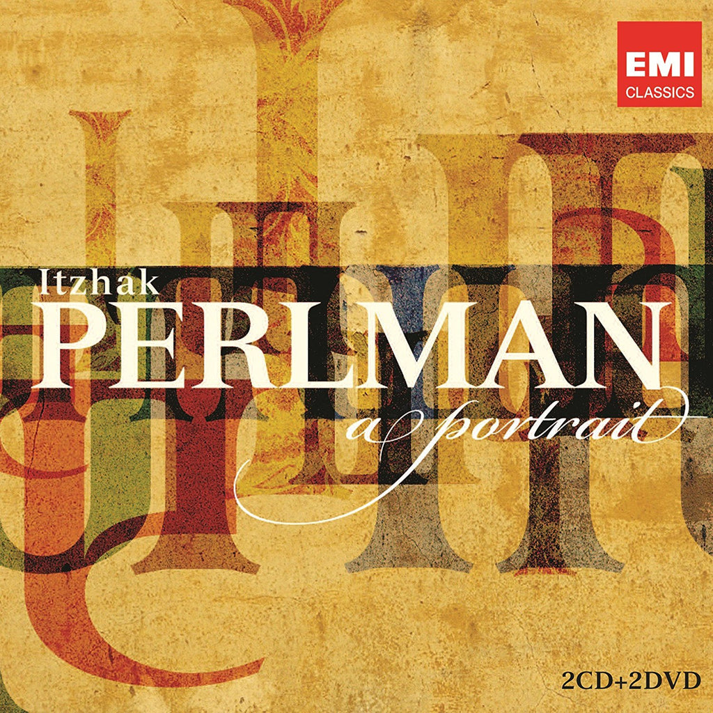 ITZHAK PERLMAN: A PORTRAIT (2 CDs + 2 DVDs - DELUXE VERSION)