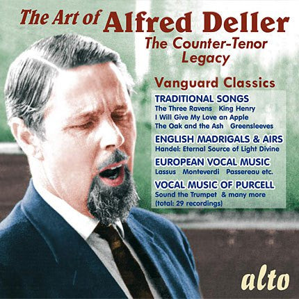 The Art of Alfred Deller - The Counter-Tenor Legacy