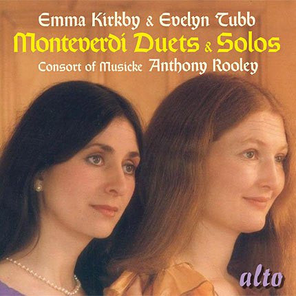 MONTEVERDI: DUETS AND SOLOS - KIRKBY, TUBB, ROOLEY
