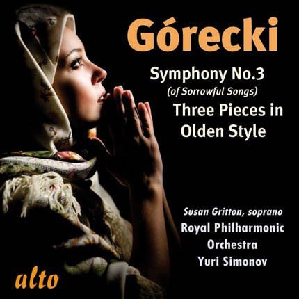 Gorecki: Symphony No. 3; Three Pieces in Olden Style - Yuri Simonov, Royal Philharmonic