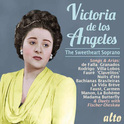 Victoria de Los Angeles: The Sweetheart Soprano