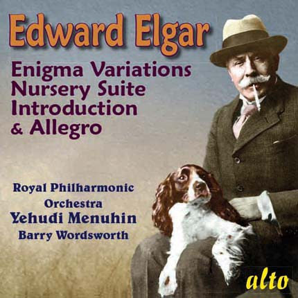 ELGAR: ENIGMA VARIATIONS, NURSERY SUITE, INTRODUCTION AND ALLEGRO, POMP AND CIRCUMSTANCE - MENUHIN, ROYAL PHILHARMONIC