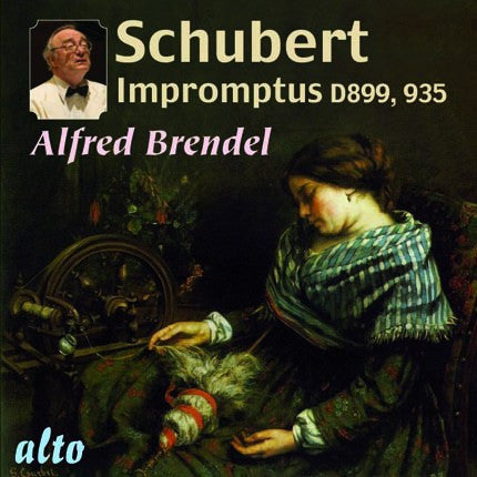 SCHUBERT: Impromptus (complete); Moments Musicaux (selections) - Alfred Brendel
