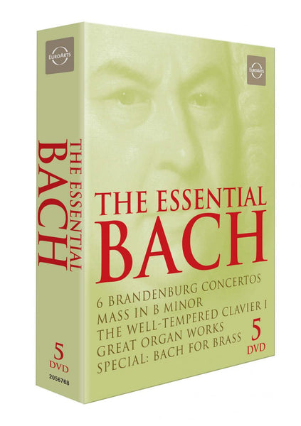 The Essential Bach DVD Box (5 DVDS)