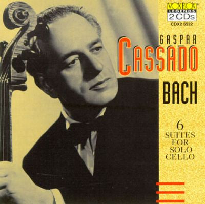Bach: Cello Suites - Gaspar Cassado (2 CDs)