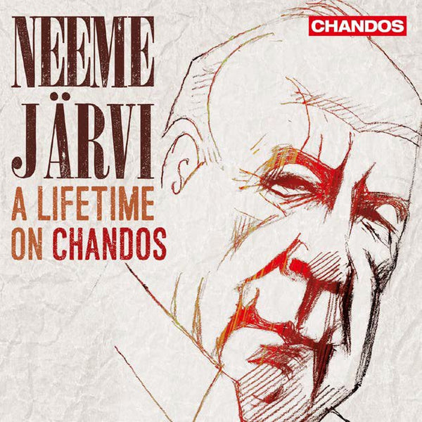 NEEME JARVI: A LIFETIME ON CHANDOS (25 CDS)