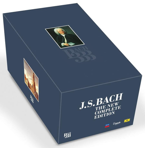 BACH 333 (222 CDs + 1 DVD)