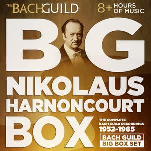 Big Nikolaus Harnoncourt Box (The Complete Bach Guild/Vanguard Recordings)