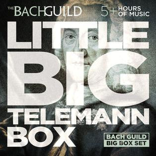 LITTLE BIG BOX OF TELEMANN