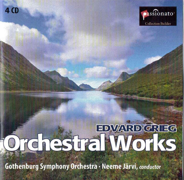 Grieg: Orchestral Works - Neeme Jarvi, Gotenberg SO (4 CDs)
