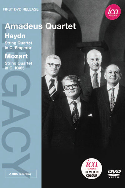 AMADEUS QUARTET PERFORMS HAYDN & MOZART (DVD)