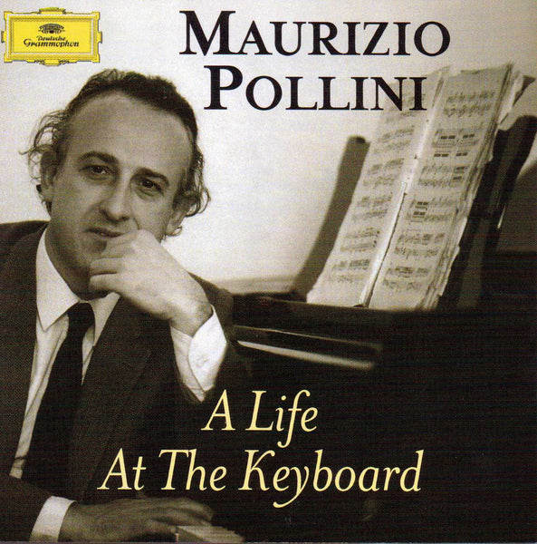Maurizio Pollini - A Life At The Keyboard (Beethoven, Mozart, Schumann, Schubert, Chopin) 4 CD Exclusive!