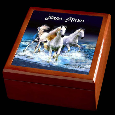 Horse Jewellery box personalised