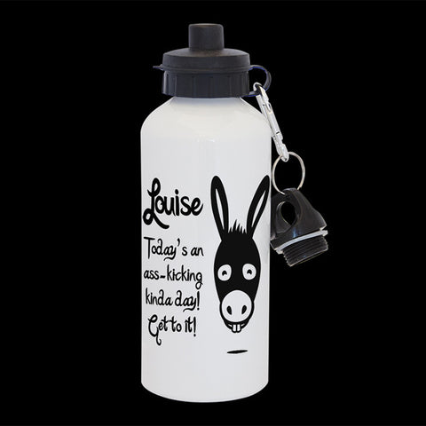 Personalised Ass Kicking Water Bottle