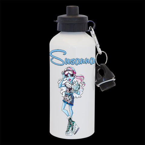Personalised Abbey Bominable Water Bottle, Monster High Abbey Drink Bottle