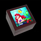 Small Jewellery Box, Little Mermaid Ariel Disney Princess Earring or Ring Box,