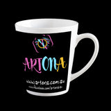 Promotional Latte Coffee Mugs, printed in Mackay Queensland, Personalised Mug