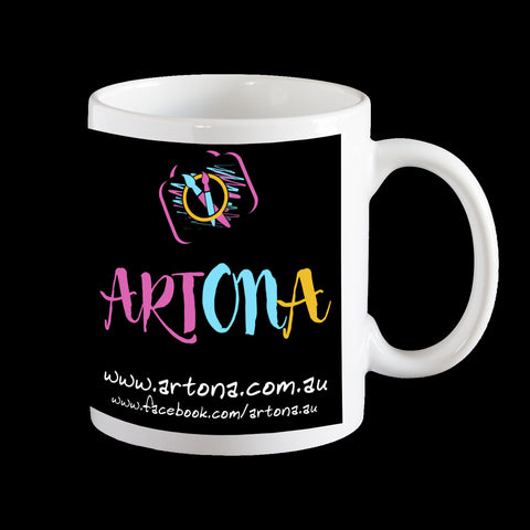 Promotional Coffee Mugs, printed in Mackay Queensland, Personalised Mug