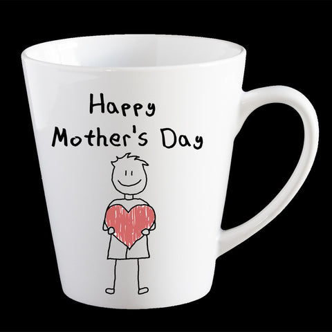 Cute Mother's Day mug from a boy, Personalised Mother's Day Coffee Mug, Mum Mug, Mother's Day gift idea