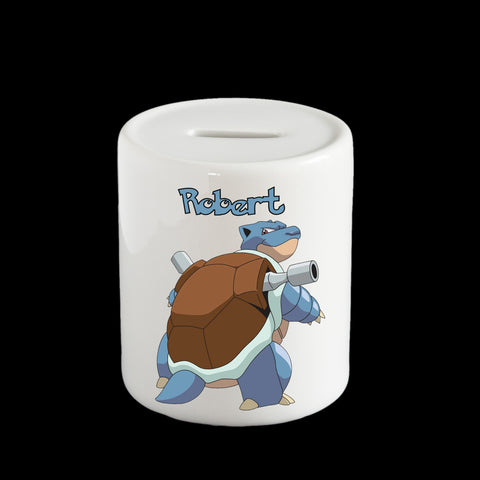 Blastoise Pokemon Piggy bank