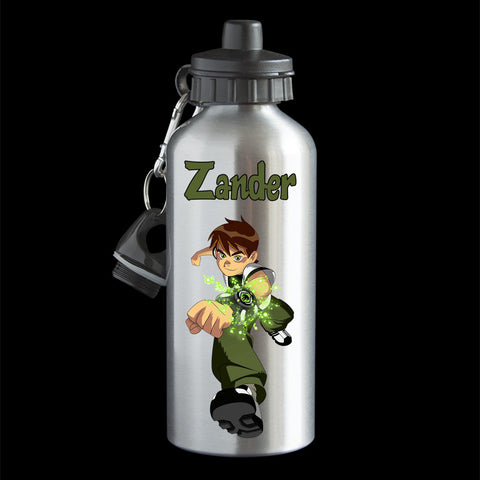 Personalised Ben 10 water bottle