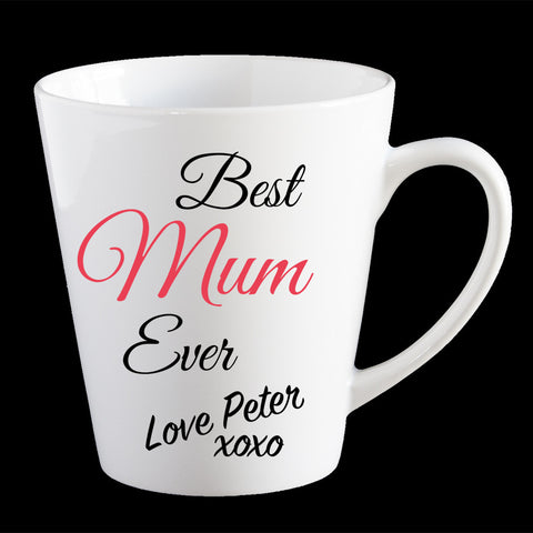 Best Mum Ever Personalised Mother's Day mug, Personalised Mother's Day Coffee Mug, Mum Mug, Mother's Day gift idea